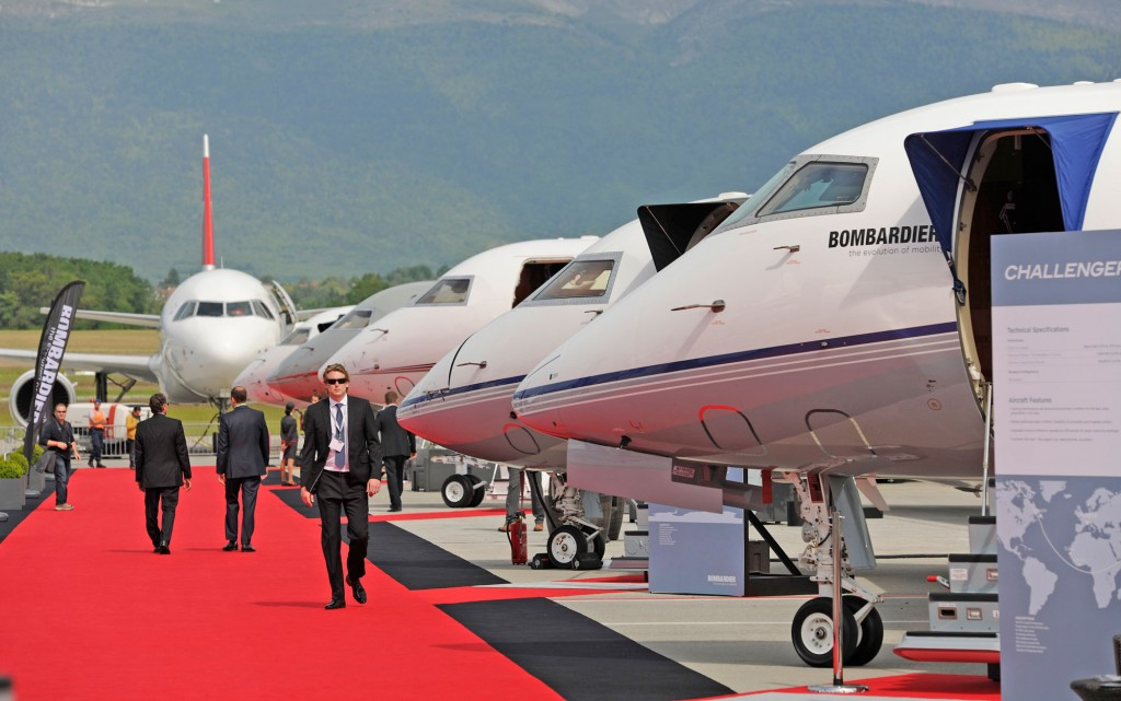 Where else but a show like EBACE can you stroll along a red carpet, inspecting and enjoying one beautiful business jet after another?